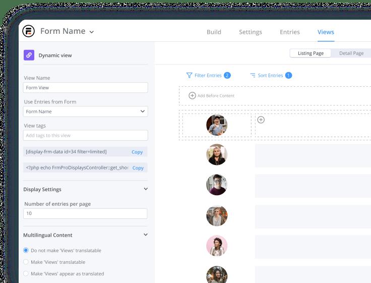 WordPress Grid Views