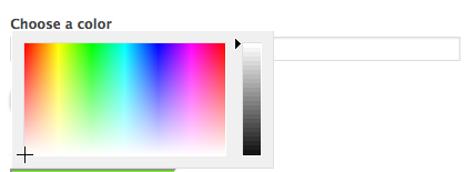 Add a Color Picker in WordPress Forms