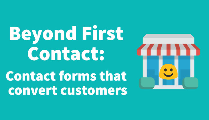 Beyond First Contact: Contact Forms WordPress that convert Customers