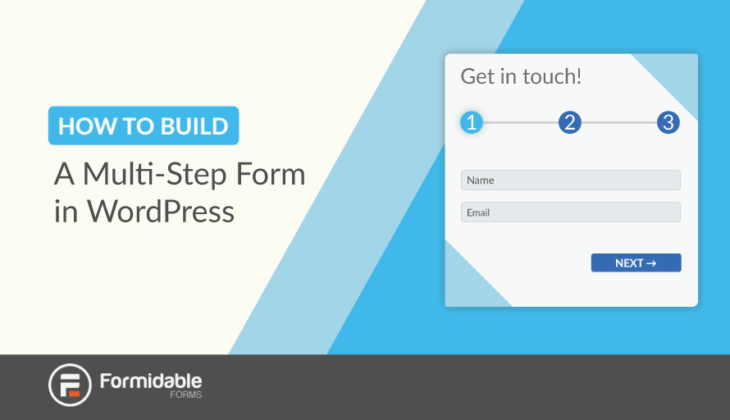 How to Build a Multi-Step Form in WordPress