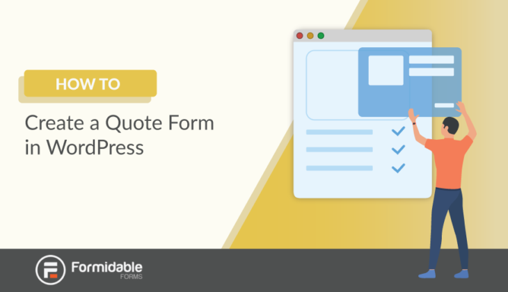 How to Create a Quote Form in WordPress