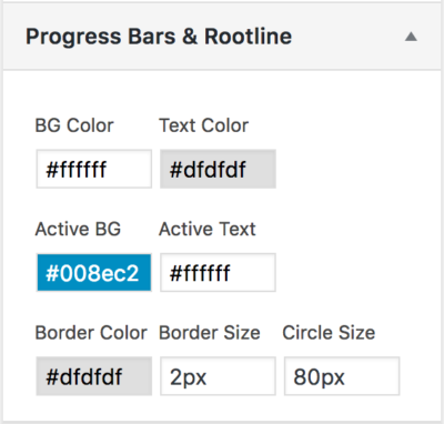 multi step form design with progress bar