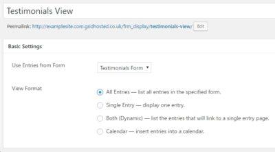 WordPress Testimonial Plugin: WordPress Testimonials View