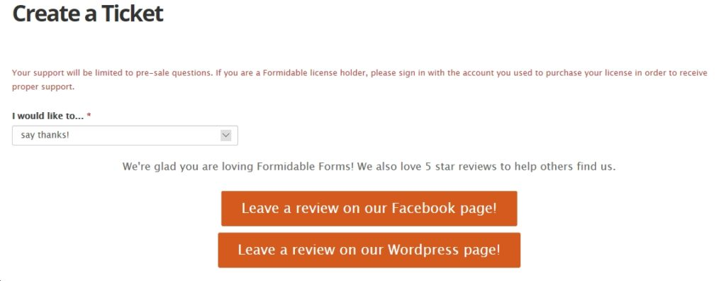 Smart forms redirect