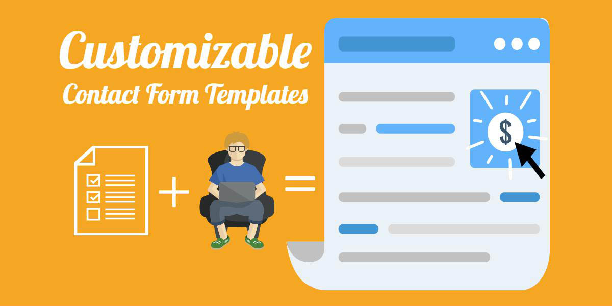 Customizable WordPress Contact Form Template