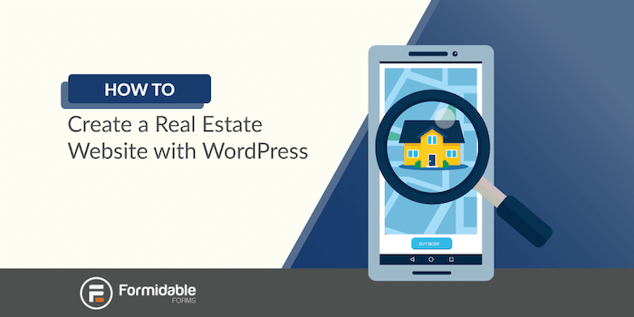 how to create a real estate website with WordPress