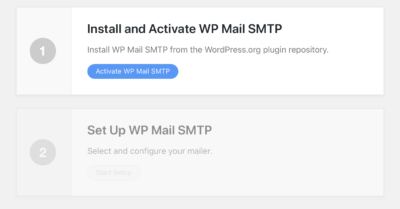 Install and activate WP Mail SMTP