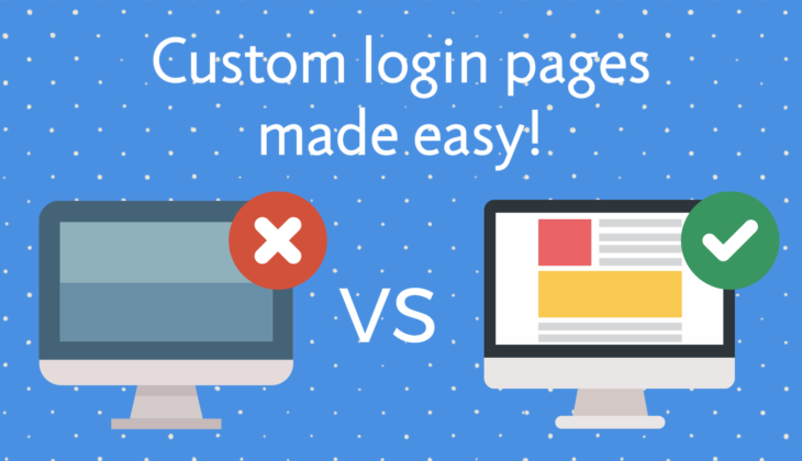 Build a custom WordPress login page in 4 easy steps!