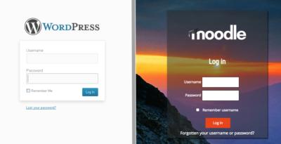 WordPress Login Page with a WordPress login plugin