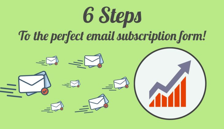 6 ways to increase conversions in your email sign up form