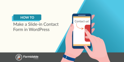 How to Make a Slide-in Contact Form in WordPress