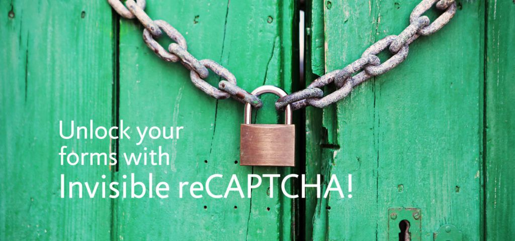 invisible recaptcha for WordPress anti spam