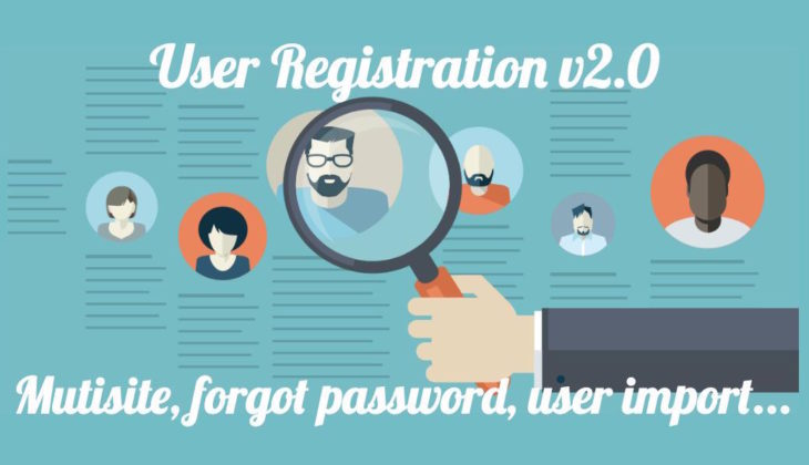 WordPress multisite support, forgot password form, and more in User Registration v2.0