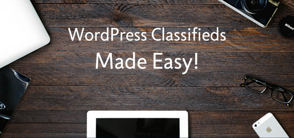 WordPress classified ads