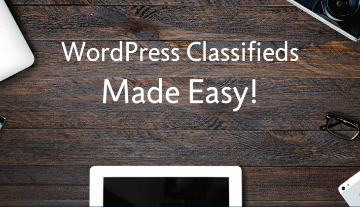 How to make flexible WordPress classified ads with your forms