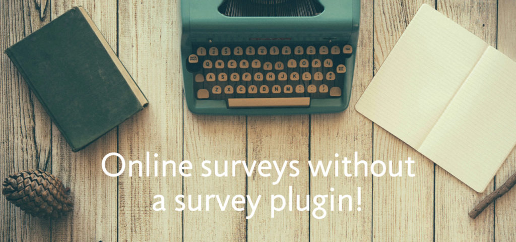 Build an online survey form with the best WordPress survey plugin