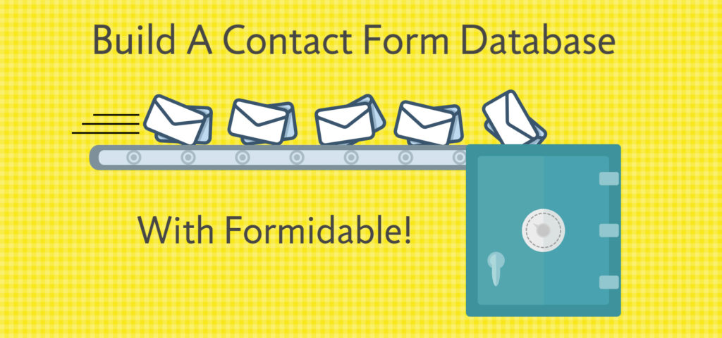 save contact form database