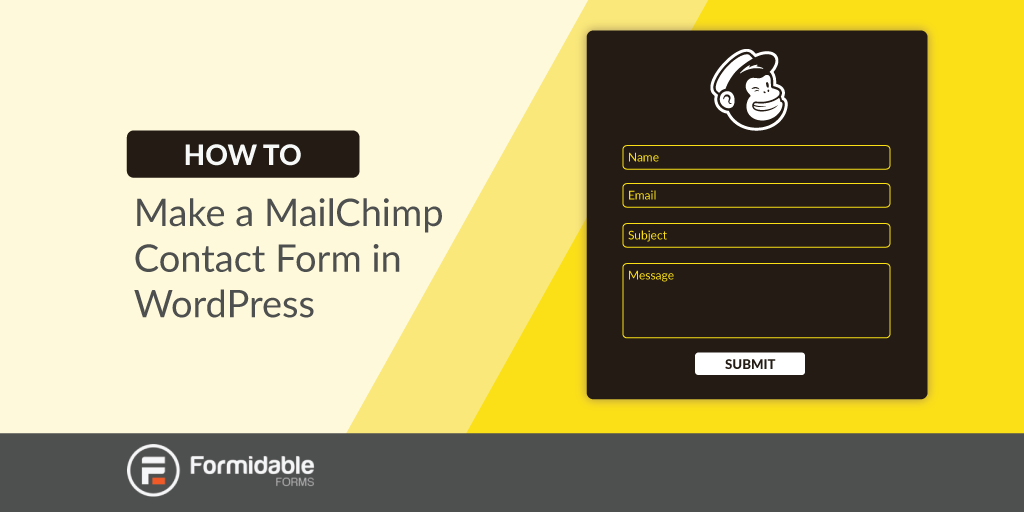 How to make a MailChimp contact form in WordPress