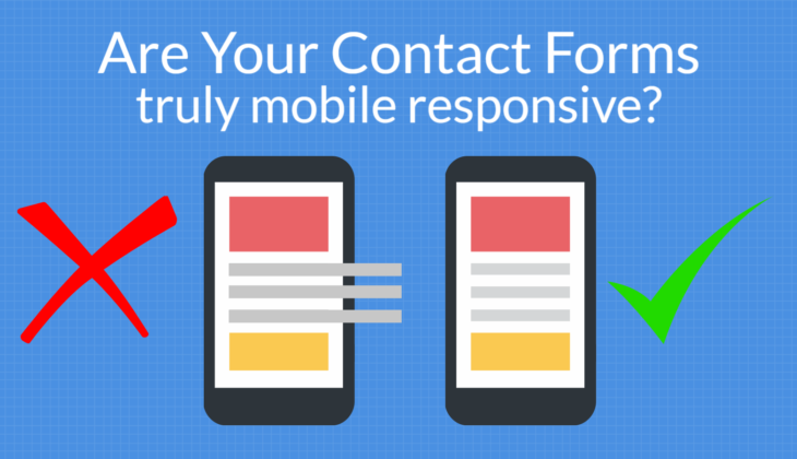 5 steps to a mobile-friendly site with a responsive contact form