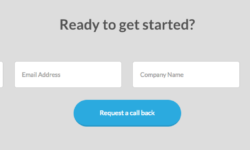 The Talent Portal WordPress contact form design