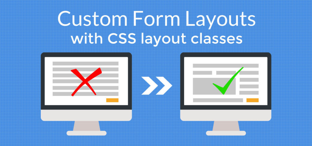 How to create a custom form layout in WordPress forms