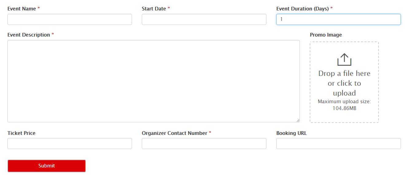 WordPress event calendar plugin for school events