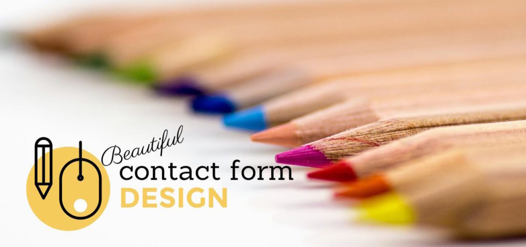 Beautiful contact form design in WordPress