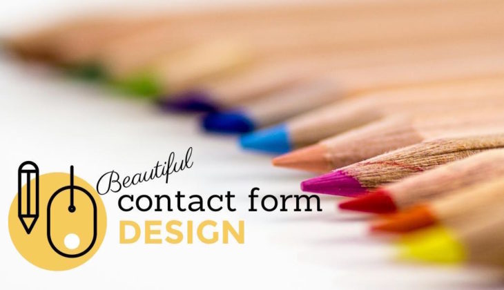 Beautiful contact form design in WordPress (with examples)