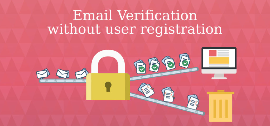How to verify email addresses without WordPress registration