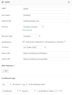 How to Create a WordPress Charitable Donation Form - Formidable Forms