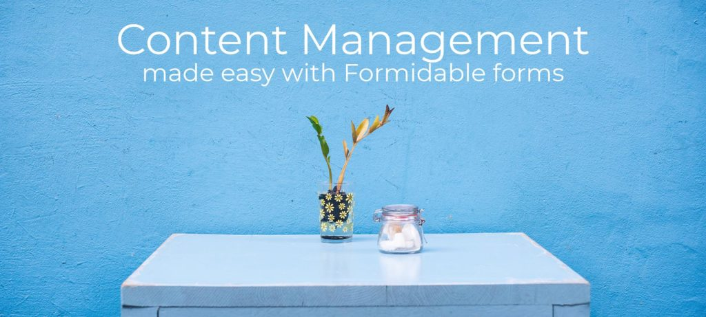 How can I make content management easy for my web clients?