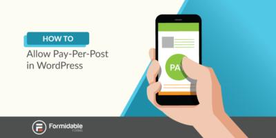 Pay-per-post WordPress
