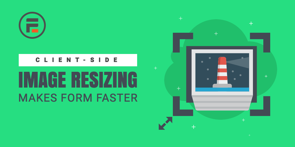 Client-Size Image Resizing for faster WordPress Forms