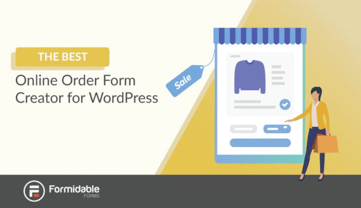 The best online order form creator for WordPress