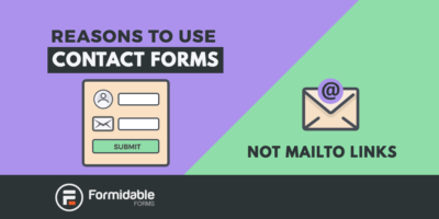 Reasons to use contact forms not mailto links