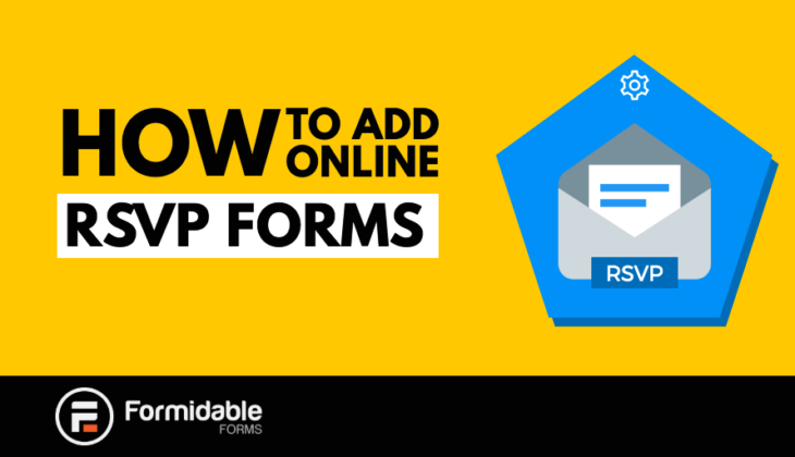 How to add online RSVP forms in WordPress
