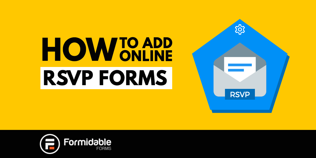 How to add an online RSVP form in WordPress