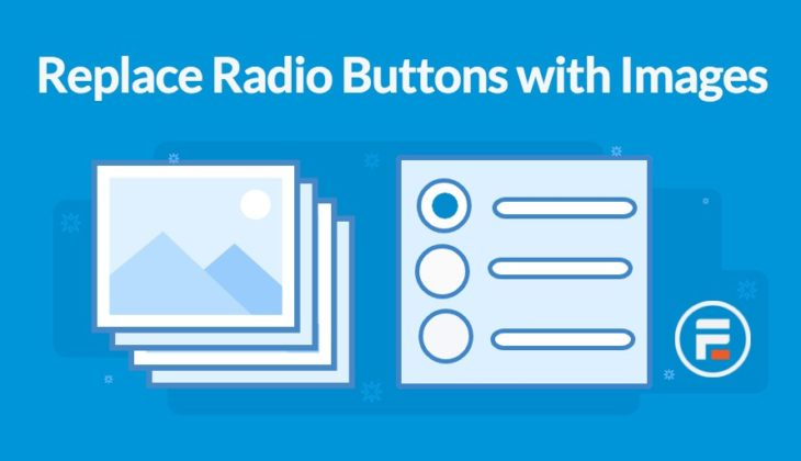 How to replace radio buttons with images in WordPress forms
