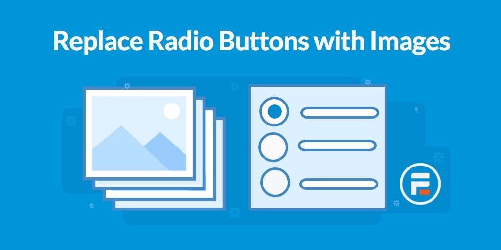 Replace radio buttons with images in WordPress forms