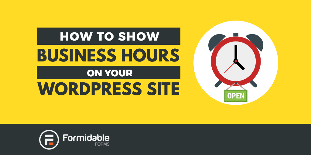 How to show business hours on your WordPress site