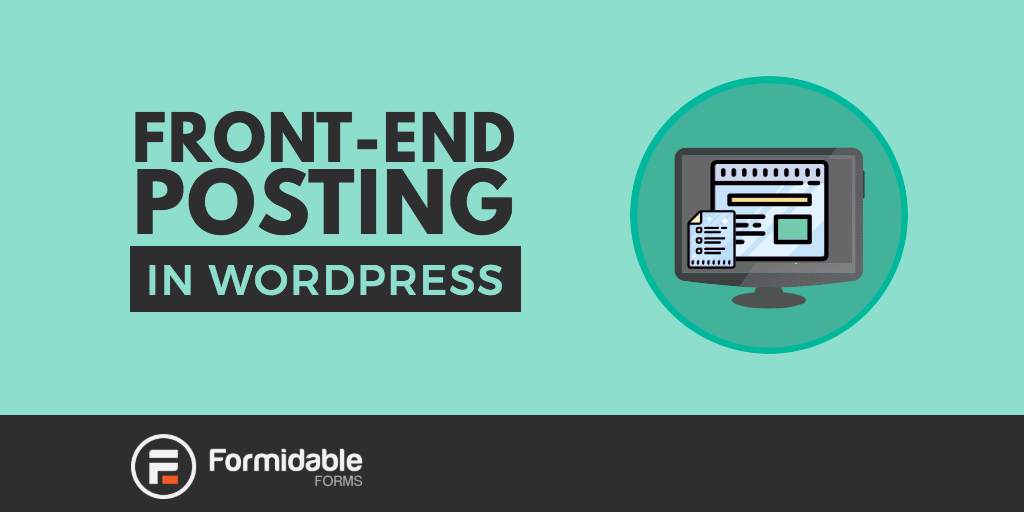 Front-end Posting in WordPress