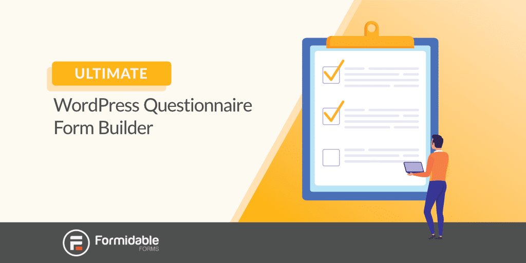 Ultimate WordPress Questionnaire Builder Plugin