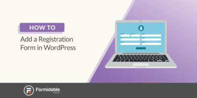 how to add a registration form in WordPress
