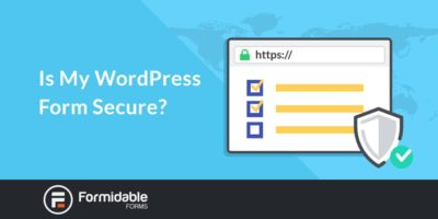 Is My WordPress Form Secure?