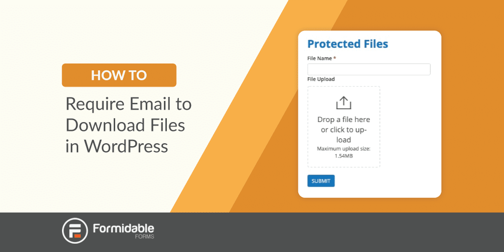 How to Require Email to Download Files in WordPress