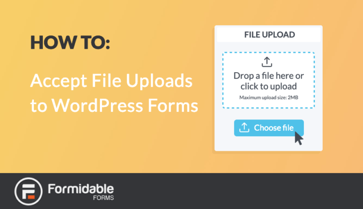 How to Accept File Uploads to WordPress Forms