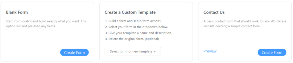create a new file upload form
