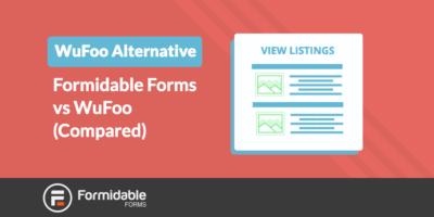 WPForms Alternative Formidable Forms vs WPForms (Compared)