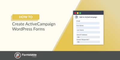 How to Create ActiveCampaign WordPress Forms