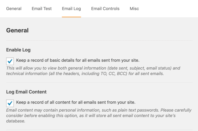 Fix WordPress not sending emails with logging